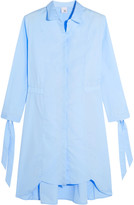 Iris and Ink Cotton-poplin shirt dress