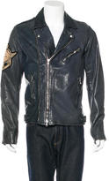 Balmain Leather Moto Jacket