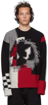 McQ Black Chester Knit Sweater