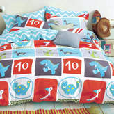 Dino Dreamaker Kid's Printed Egyptian Cotton Quilt Cover Set