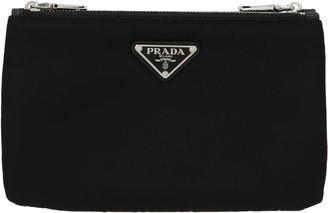 Prada Logo Nylon Crossbody Bag
