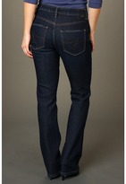 Jag Jeans Petite - Petite Lucy Low-Rise Narrow Boot in Blue Raven (Blue Raven) - Apparel
