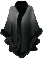 Sofia Cashmere ombré cape