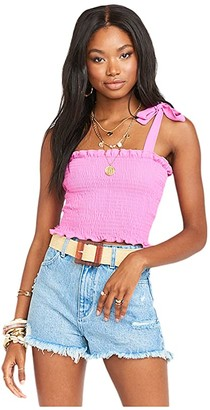 Show Me Your Mumu Antoinette Smocked Top (Orchid Pink) Women's Clothing