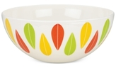 Dansk The Burbs Collection Melamine Sunflower & Grass Large Serving Bowl