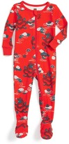 Tea Collection Mizuchi Fitted One-Piece Pajama (Baby Boys)