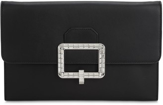 Bally Jody Smooth Leather Clutch