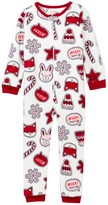 Joe Fresh Holiday Footie Sleeper (Toddler & Little Girls)