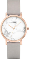 Cluse CL40103 La Roche Petite rose-gold and marble watch