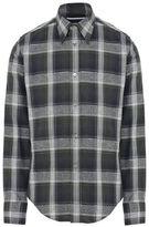 Stella McCartney blue tartan simon shirt