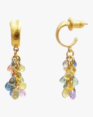 Gurhan Bacchus Fancy Sapphire Earrings