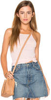 Stateside Rib Tank in Peach. - size L (also in S,XS)