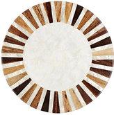 Deborah Rhodes Sunburst-Pattern Round Placemat