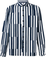 Sunnei striped shirt - men - Cotton - S