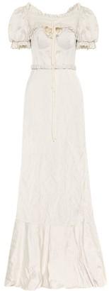 Brock Collection Satin maxi dress