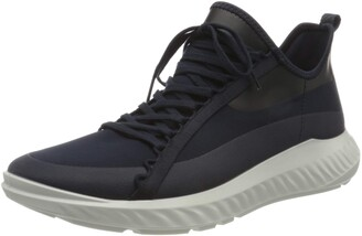 Ecco Men's ST.1 LITE Athletic Sneaker BLACK/BLACK 10 US medium
