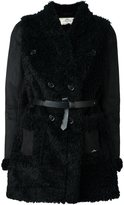 Urban Code Urbancode faux shearling belted coat