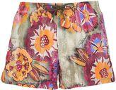 Roberto Cavalli Exotic Printed Nylon Swim Shorts