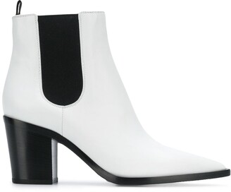 Gianvito Rossi Elasticated Side Panel Boots