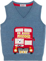 Cath Kidston Placement Print Knitted Tank Top