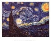 Poster Revolution Vincent Van Gogh (Starry Night) Art Poster Print MasterPoster Print, 14x11
