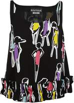 Moschino Printed Tank Top
