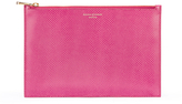 Aspinal of London Women's Large Essential Pouch Raspberry
