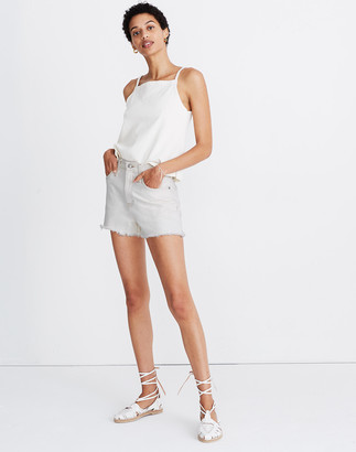 Madewell The Perfect Jean Short in Cloud Lining
