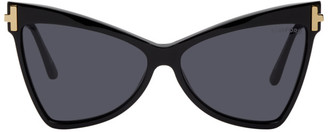 Tom Ford Black Tallulah Butterfly Sunglasses