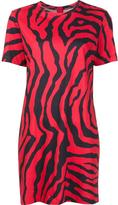 ADAM by Adam Lippes zebra print T-shirt dress - women - Cotton - 4