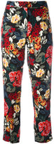 Sonia Rykiel floral trousers
