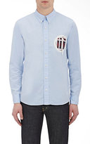 Visvim Men's Appliquéd Shirt-BLUE