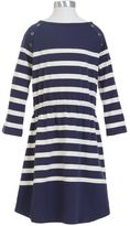 Nautica Little Girls' Striped Dress (2T-7)