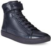 Armani Jeans Men's Perforated Hightop Sneakers