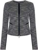Armani Jeans Crew neck jacket in fantasia blu notte
