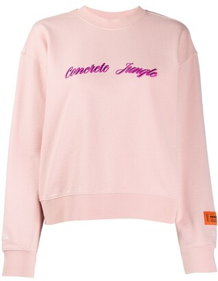 Heron Preston concrete jungle sweatshirt