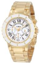 A Line a_line Women's 20108DV Marina Chronograph White Textured Dial Watch