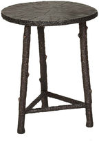 One Kings Lane Willa Side Table, Antiqued Bronze