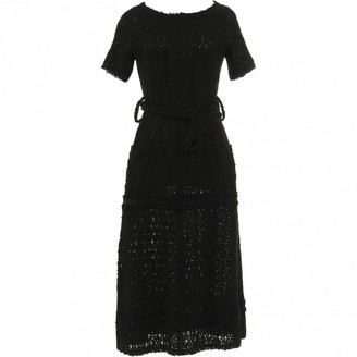 Leroy Veronique Black Tweed Dresses