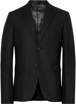 Acne Studios Black Boden Slim-Fit Wool Blazer