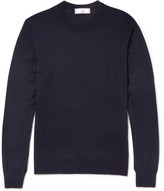 Ami Slim-Fit Merino Wool Sweater