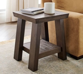 "Pottery Barn Madera 22"" Square End Table"