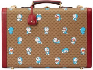Gucci Doraemon x medium suitcase