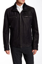 HUGO BOSS Alven Genuine Leather Jacket