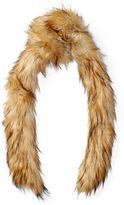 Ralph Lauren Faux-Fur & Jersey Scarf