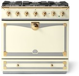 Williams-Sonoma Williams Sonoma Cornue Fe Albertine Dual-Fuel Range Stove, Blanc
