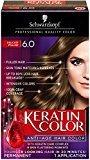 Schwarzkopf Keratin Hair Color, Delicate Praline 6.0, 2.03 Ounce