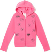 Pink Hearts Hoodie - Toddler & Girls