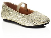 Ivanka Trump Girls' Metallic Park Ballet Flats - Toddler