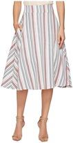 Unique Vintage High Waist Vivien Swing Skirt Women's Skirt